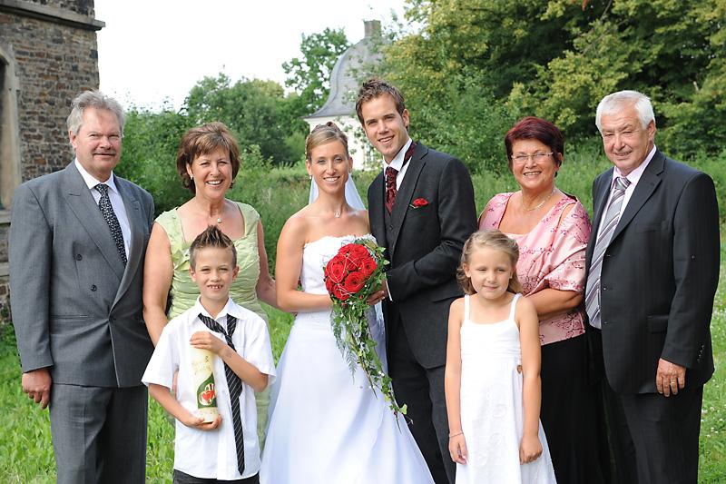 Ehepaar Hochzeit